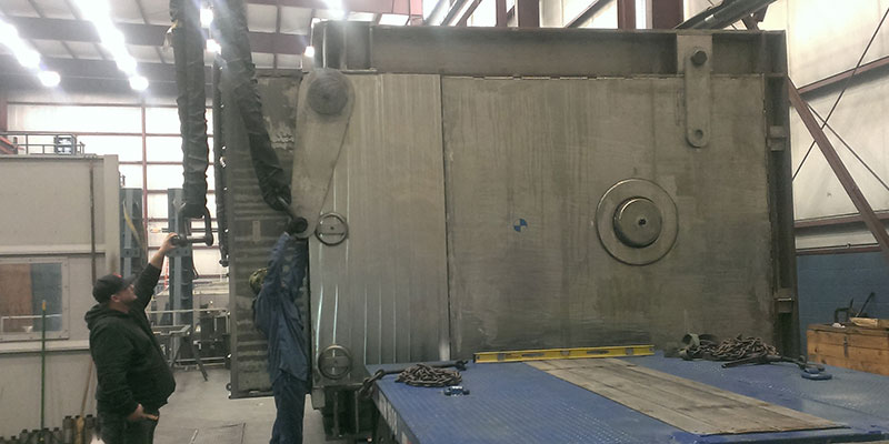 Facility For Rare Isotope Beams - Large CNC Machining